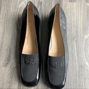 Salvatore Ferragamo Black Italian Loafers